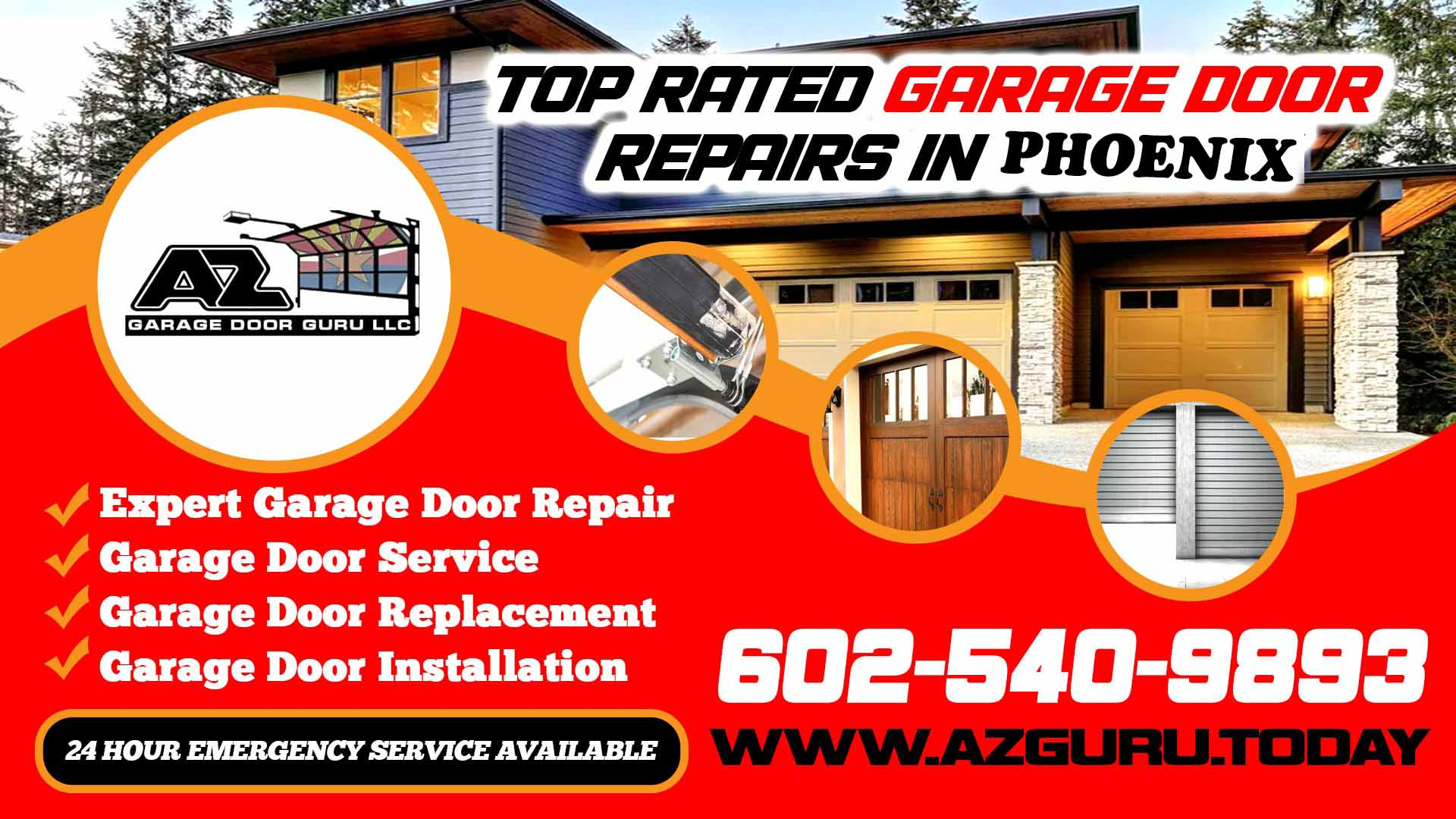 Expert Garage Door Repair in Phoenix